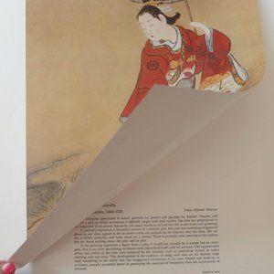 Vintage Wall Art - Japanese Women Art Prints Set of 6 Full Color